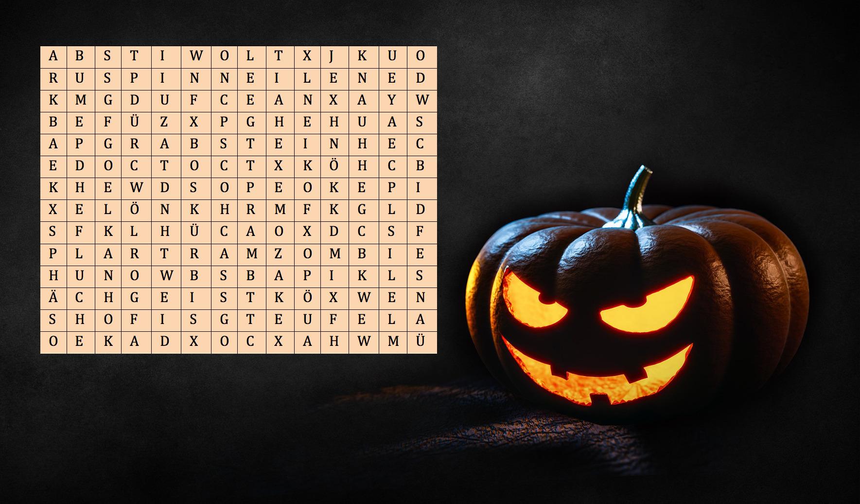 Halloweengewinnspiel