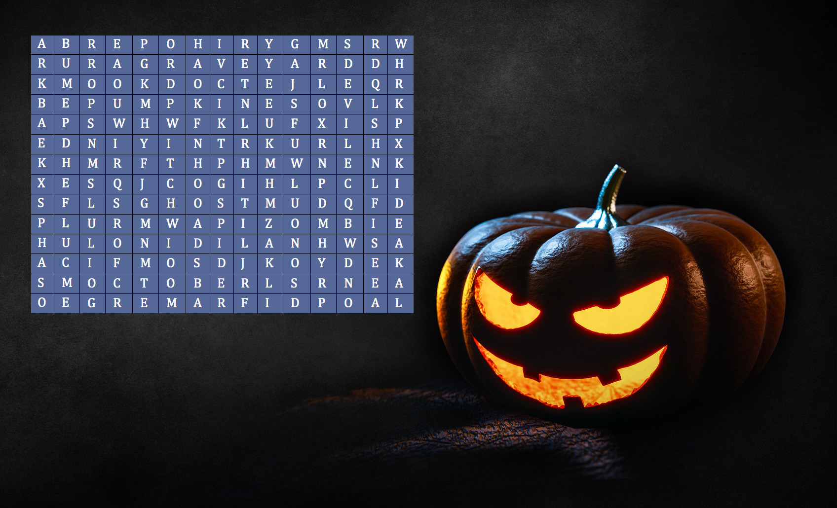 Halloween Raffle