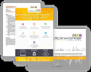 clickworker Unternehmensinformationen
