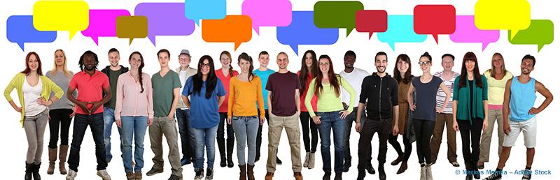 Crowdsourced Sprachaufnahmen